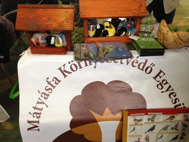 Madárkarácsony az adventi vásáron – a Mátyásfa Környezetvédő Egyesület szervezésében