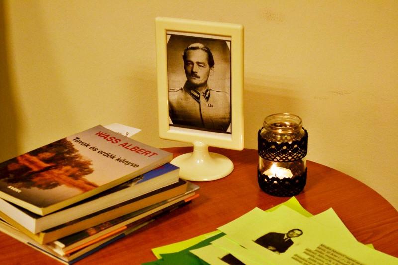 Wass Albertre emlékeztünk a Könyvtárban