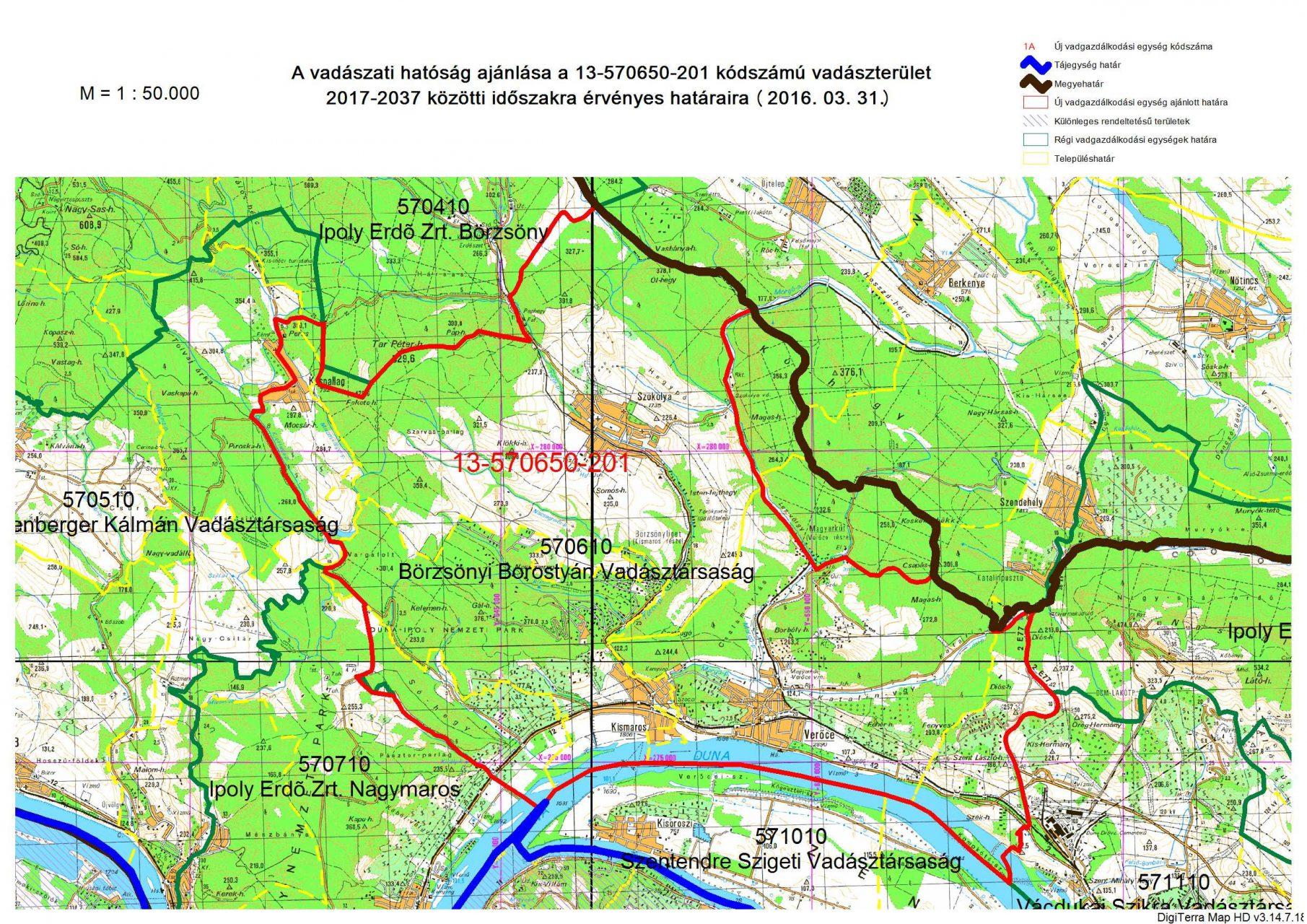 kismaros térkép Tájékoztató a Kismaros területét érintő vadászterületek  kismaros térkép