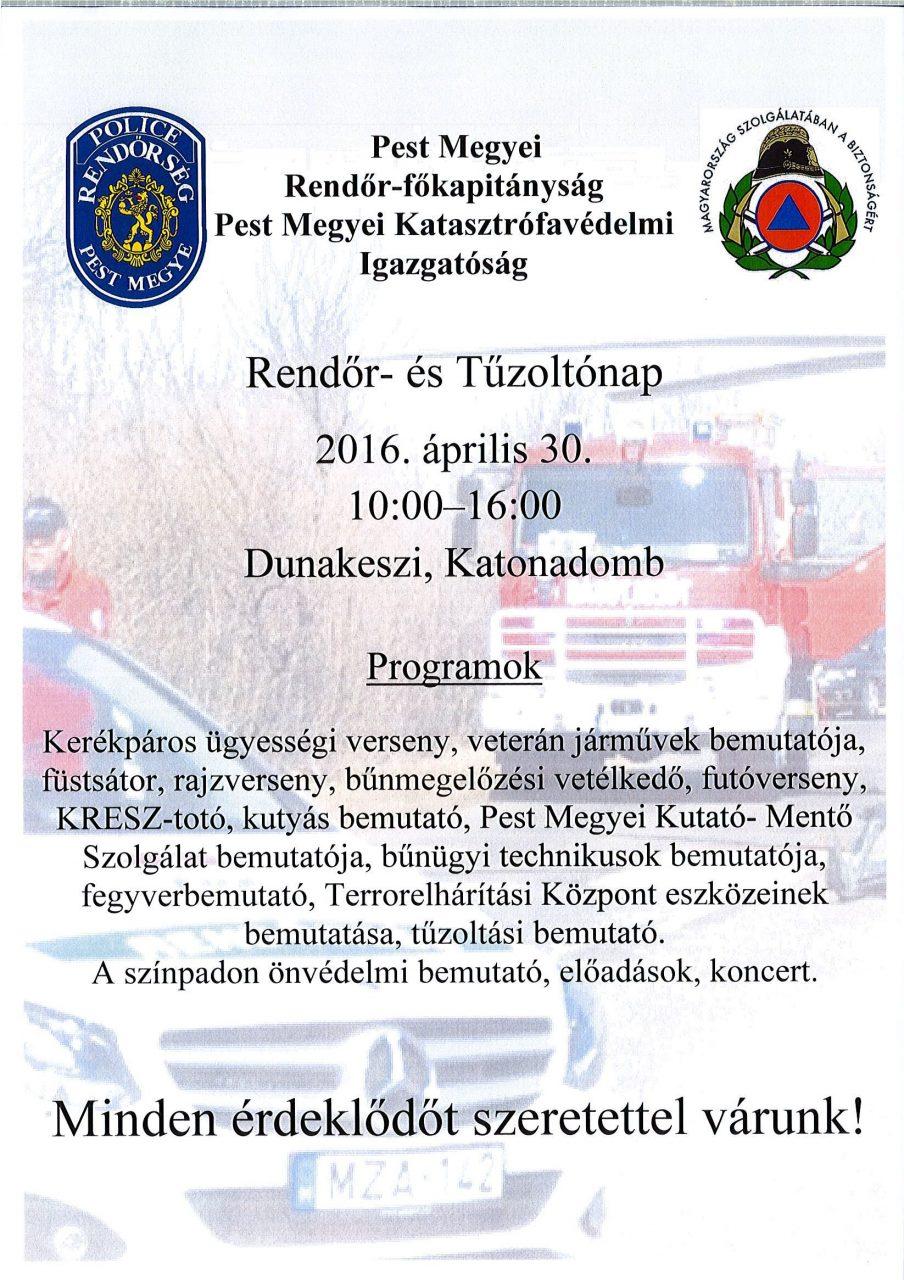 Rendőrnap2016 plakát