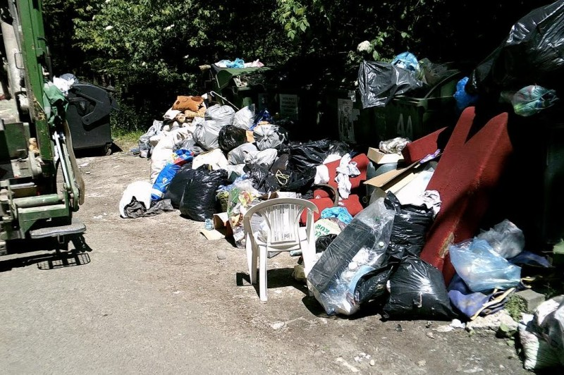 Illegális hulladéklerakások Kismaroson!