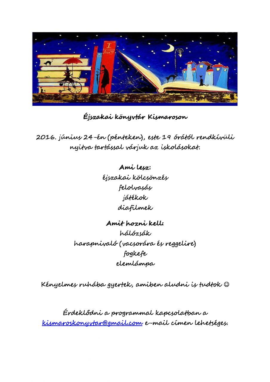 Éjszakai-könyvtár-Kismaroson