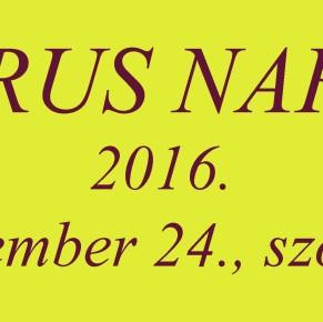 MARUS NAPOK 2016. – a 2. nap programja