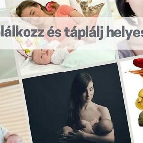 Táplálkozz és táplálj helyesen! – Rózsa Ibolya szoptatási tanácsadó előadása Kismaroson
