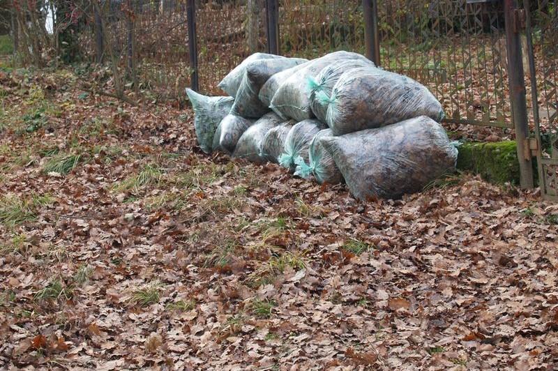 A zöld hulladék elszállítása télen szünetel
