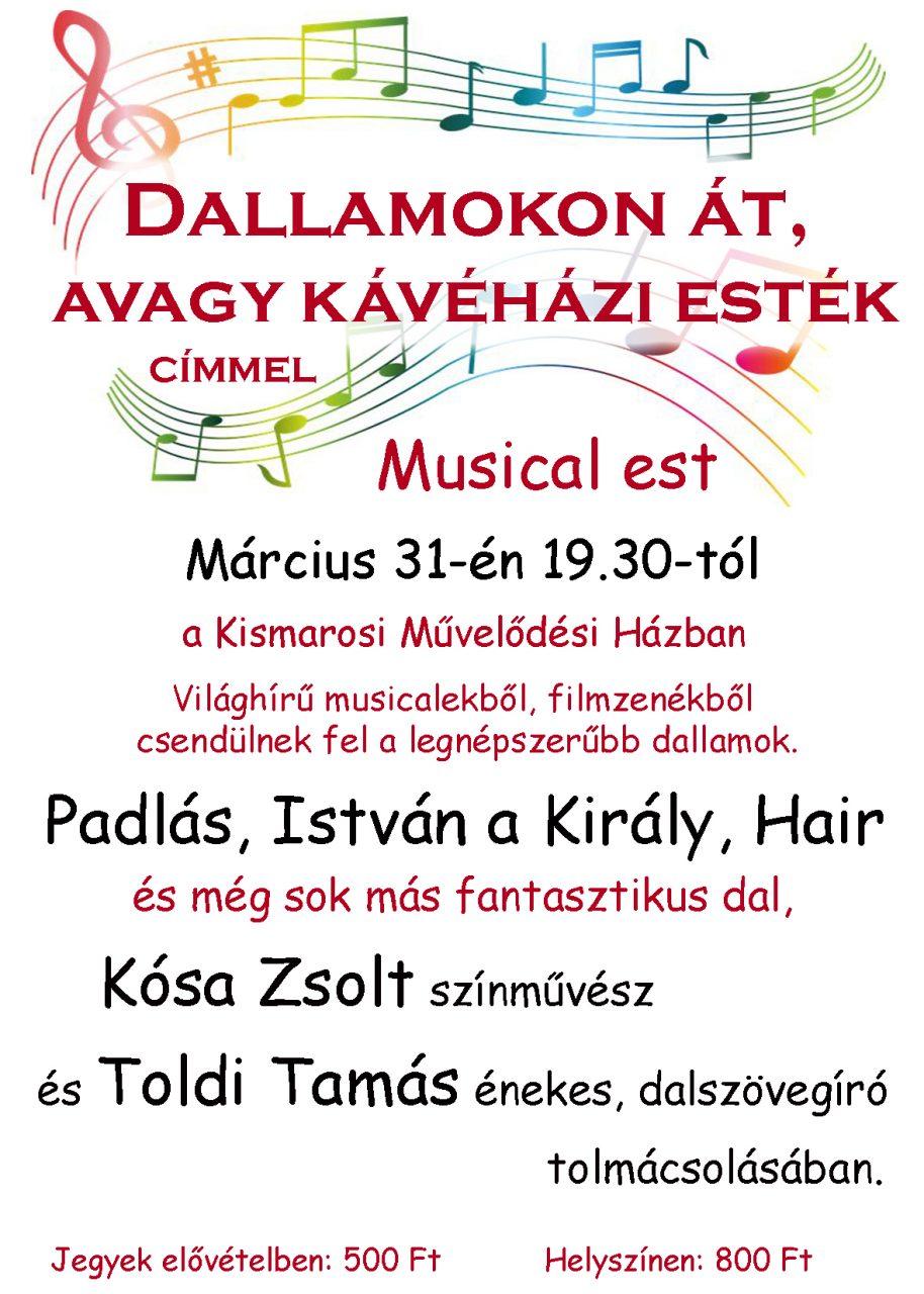 musicaestplakát
