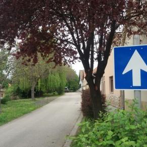 Kopott közlekedési táblák cseréje