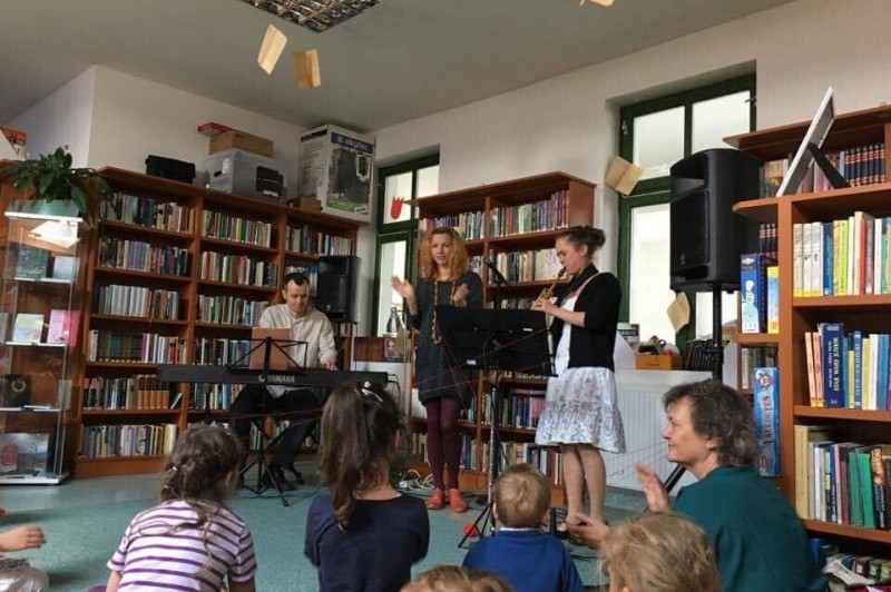 Jazz délelőtt gyermekeknek a könyvtárban