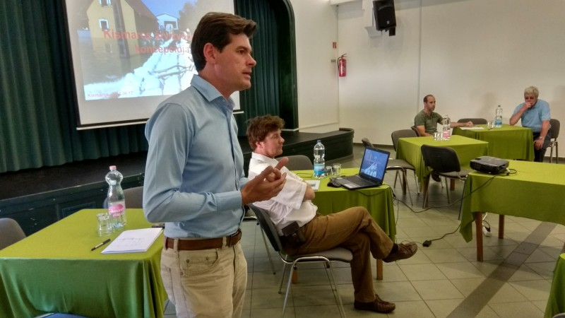 árvíz fórum 2017 június Neubauer Rudolf polgármester