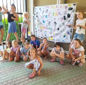 Tizenhét gyermek örült a Karitász tábornak