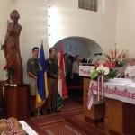 Cserkészek augusztus 20-án a templomban