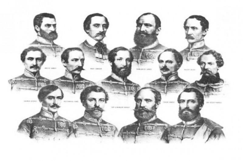 Emlékezzünk együtt az 1848-49-es szabadságharc mártírjaira!