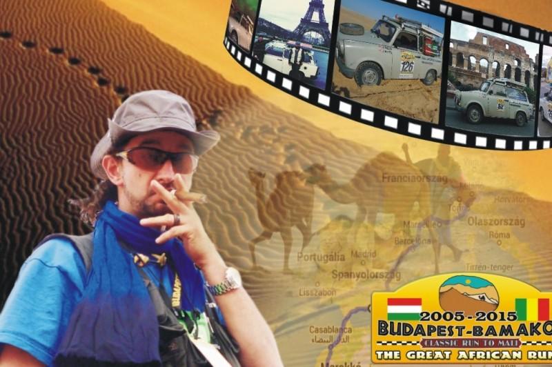 Világjáró Trabant – Vadász Zsolt kiállítással és könyvbemutatóval egybekötött élménybeszámolója