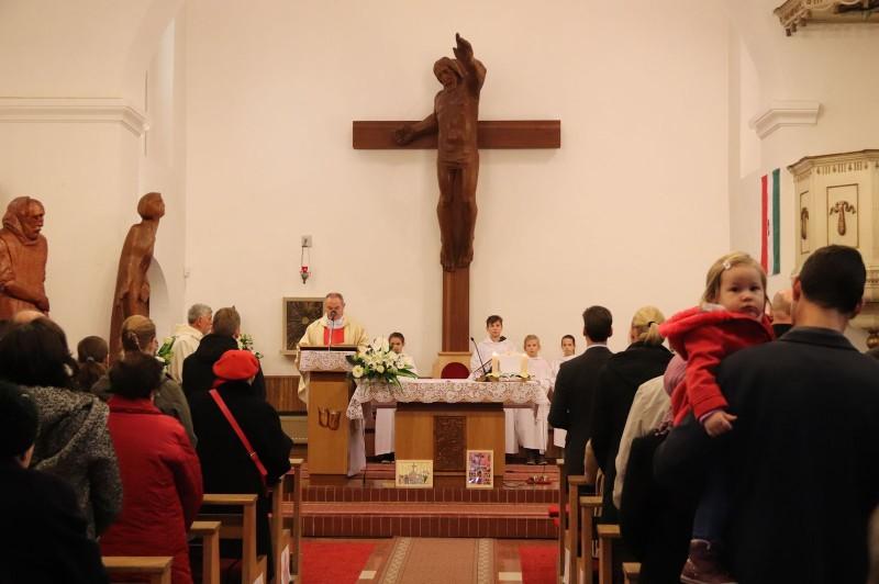 Karácsonyi ünnepi miserend Kismaroson