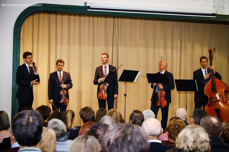 A szerelmetes elefánt – Kismaroson nyitotta az évet a Lanner Kvartett