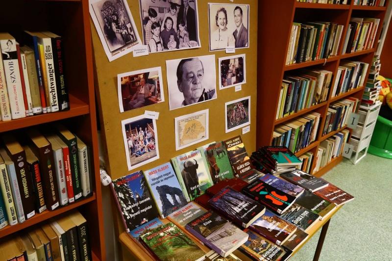 Wass Albert emlékest a könyvtárban