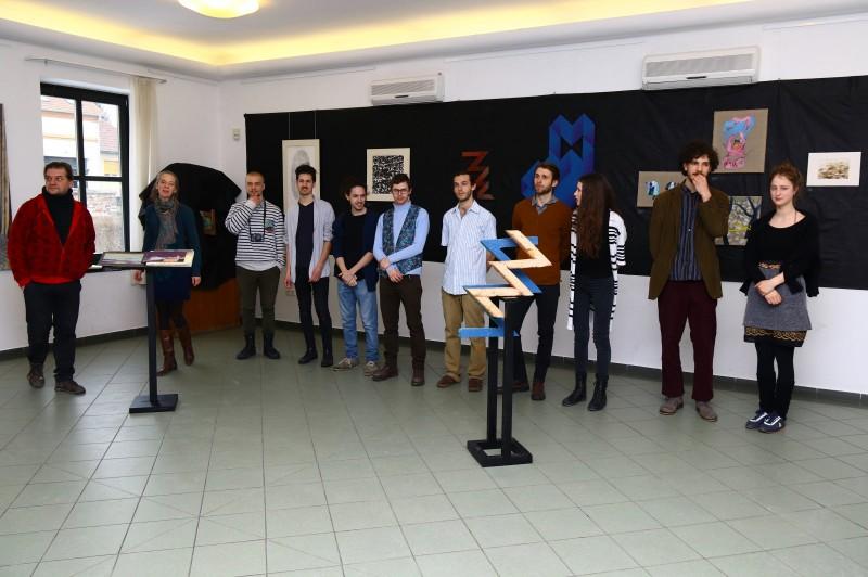 Megnyílt a Képzőművészeti Egyetem hallgatóinak kiállítása