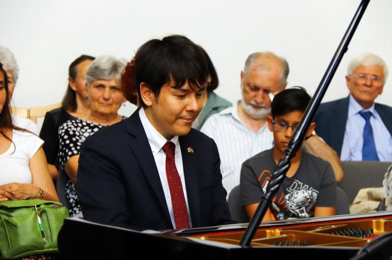 Visszajelzések és fotók Kaneko Miyuji Attila kismarosi koncertjéről