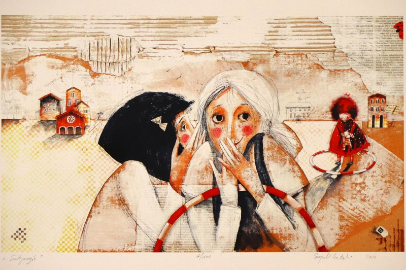 Még pár napig látható Szegedi Katalin kiállítása Kismaroson