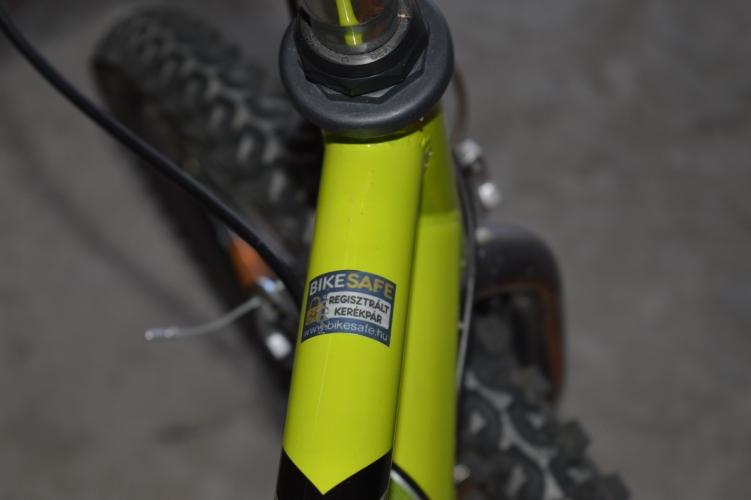 Kerékpár regisztráció lopás ellen