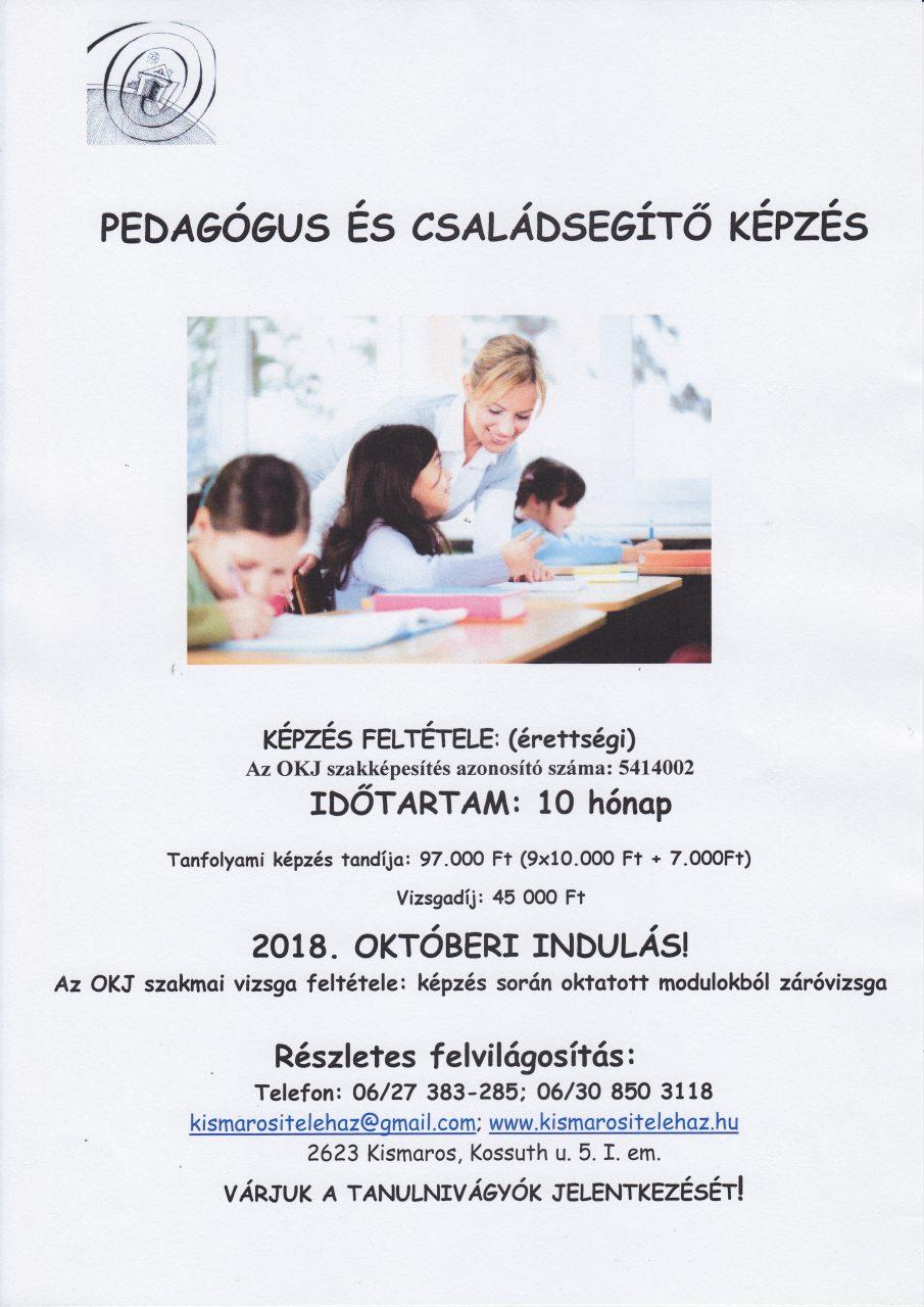 Ped.családsegítő plakát