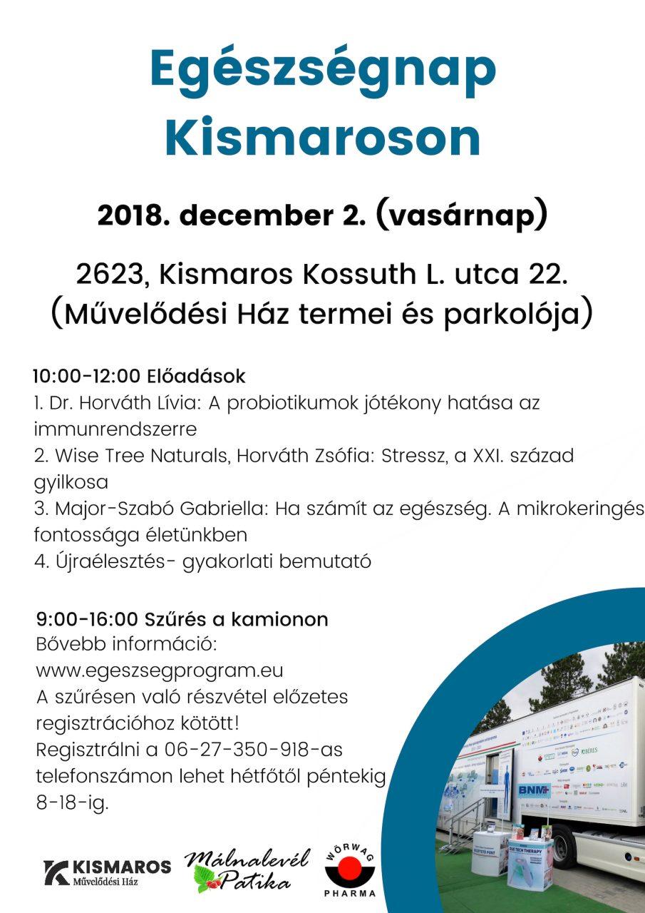 Egészségnap Kismaroson