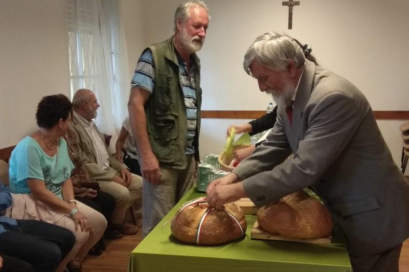 Az államalapítás ünnepe Kismaroson